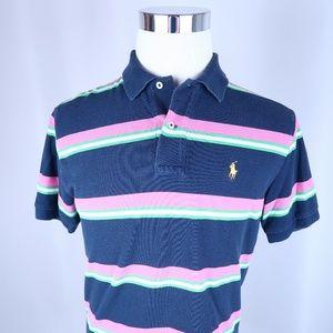 Ralph Lauren Short Sleeve Striped Polo Shirt